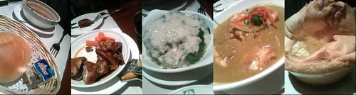 乳鸽和蟹肉西兰花味道还不错,白脱很老牌
