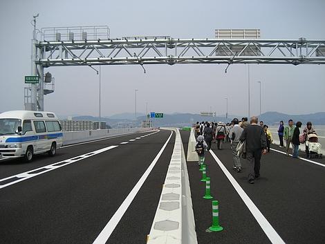 広島高速 開通イベント ハイウェイウォーク14