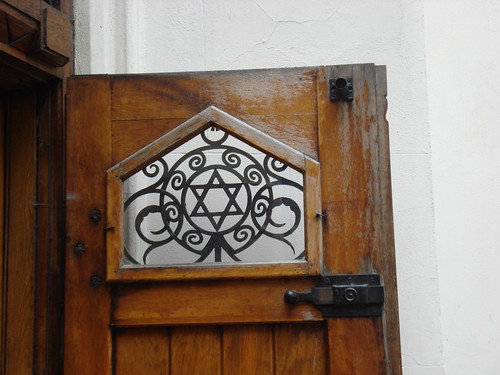 Synagogue Door Detail