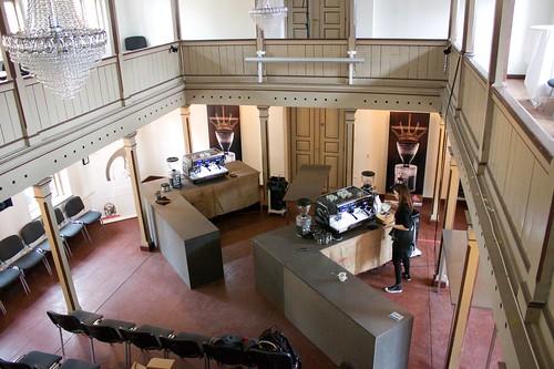 The venue: Auktionshuset, Århus