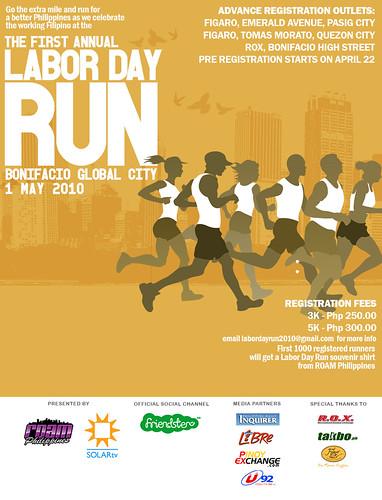 1st Labor Day Run 2010