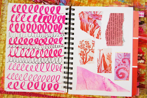 More from the Exploring Pink Sketchbook