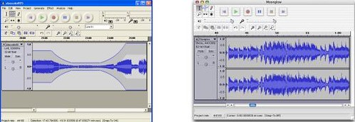 Audacity: Screenshots