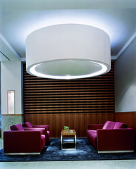 Design and cool Circular light in the lobby of the Hotel Concorde Berlin in Germany (Concorde Hotels Resorts) Tags: berlin germany table lights design cool europe lobby sofa hotellobby cuttingedge bluecarpet hotelconcordeberlin concordehotel circularlight concordeberlin concordehotels