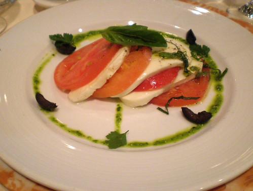 Carnival Spirit - Tomato Mozzarella Salad