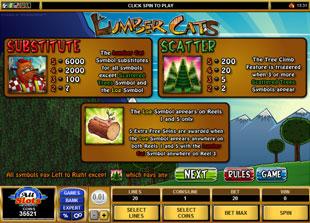 free Lumber Cats slot mini symbol