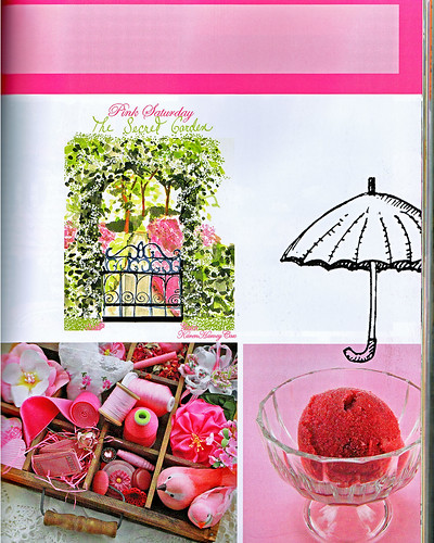 artful blogging magazine pink saturday