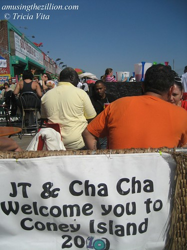 JT & Cha Cha Welcome You to Coney Island 2010. Photo © Tricia Vita//me-myself-i via flickr