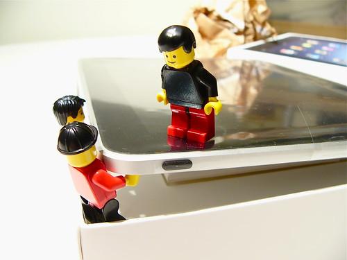 iPad unpacking