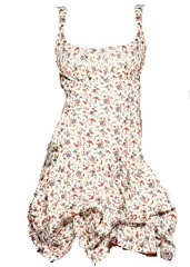floral dress, clothesline, fashion blog