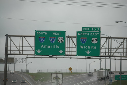 I-40 Meets I-35 in Oklahoma City (exit 153)