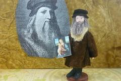 Miniature Doll Leonardo Da Vinci