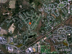 MD's zip code 20769, near Glenn Dale (via Google Earth)