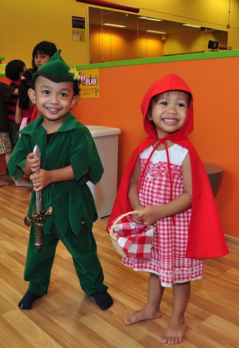 Peter Pan meets Red Riding Hood