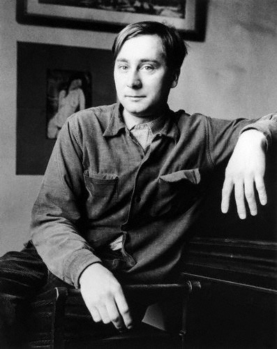 Alan Sillitoe photographed by John Hedgecoe