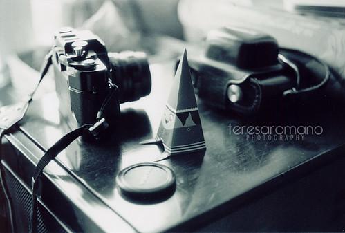 macchine fotografiche e folletto