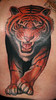 guys tiger tattoo by MONK