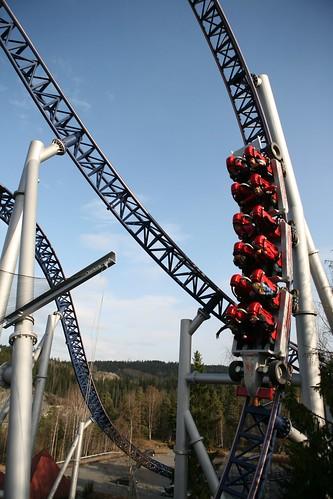 SpeedMonster er en av Tusenfryds tøffeste berg- og dalbaner