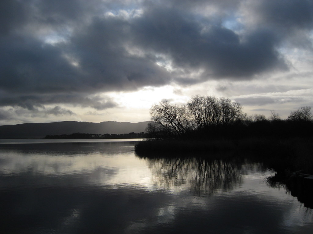 Photo insolite de la semaine : entre ciel et lac