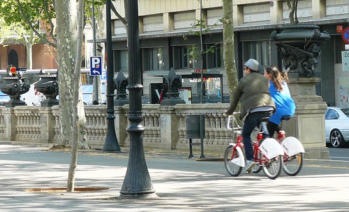 Bicing couple