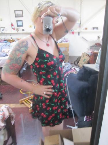 kwik sew swim dress pattern! so easy!