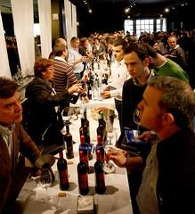 l tast de vins on els cellers van presentar de manera especial l'anyada 2007 de negre criança (Foto: D.O. Empordà)