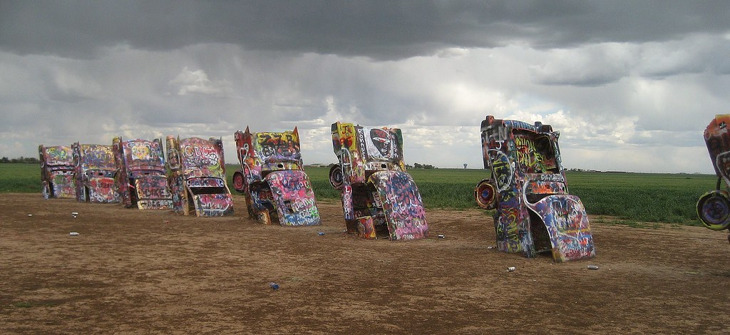 Cadillac Ranch by Nic5702, on Flickr