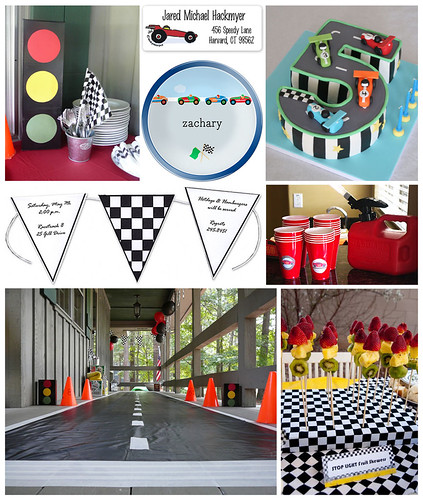 Racecar Kids Party