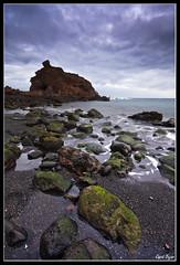 Costa Burrero (David Bjar) Tags: david grancanaria mar canarias cielo tormenta rocas bjar verdin burrero guararire fotograncanaria