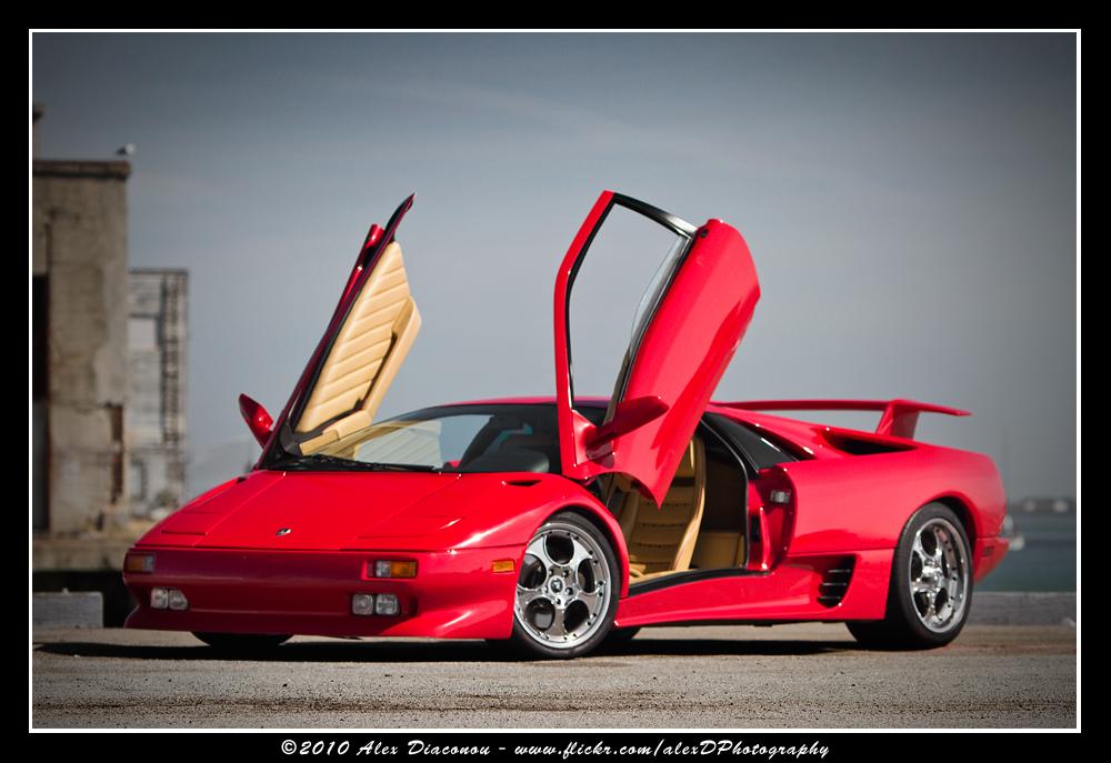 Lamborghini Diablo Shoot