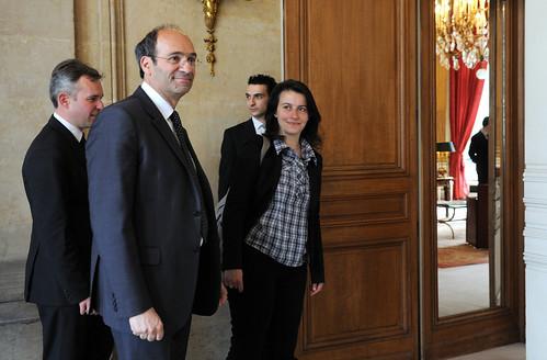 Rencontre entre Eric Woerth et Cécile Duflot
