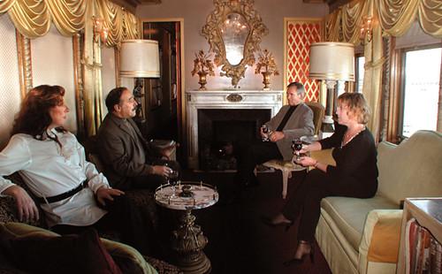 Private Rail Car - Virginia City, the lounge