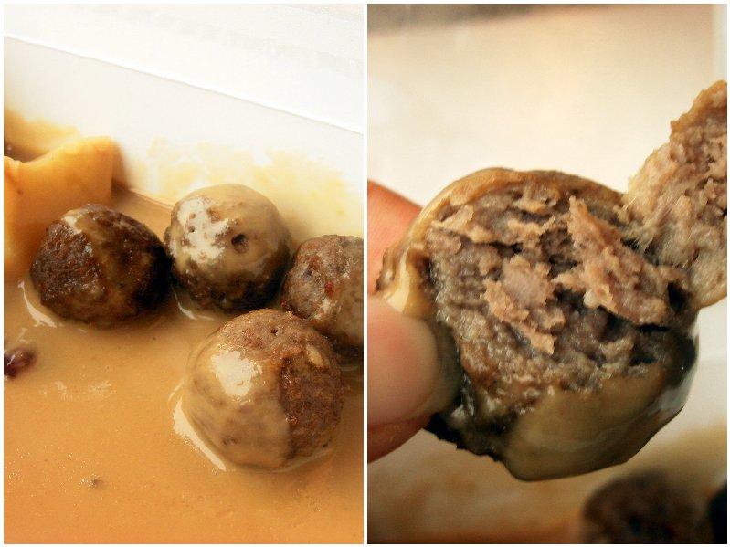 IKEA pork beef meatballs