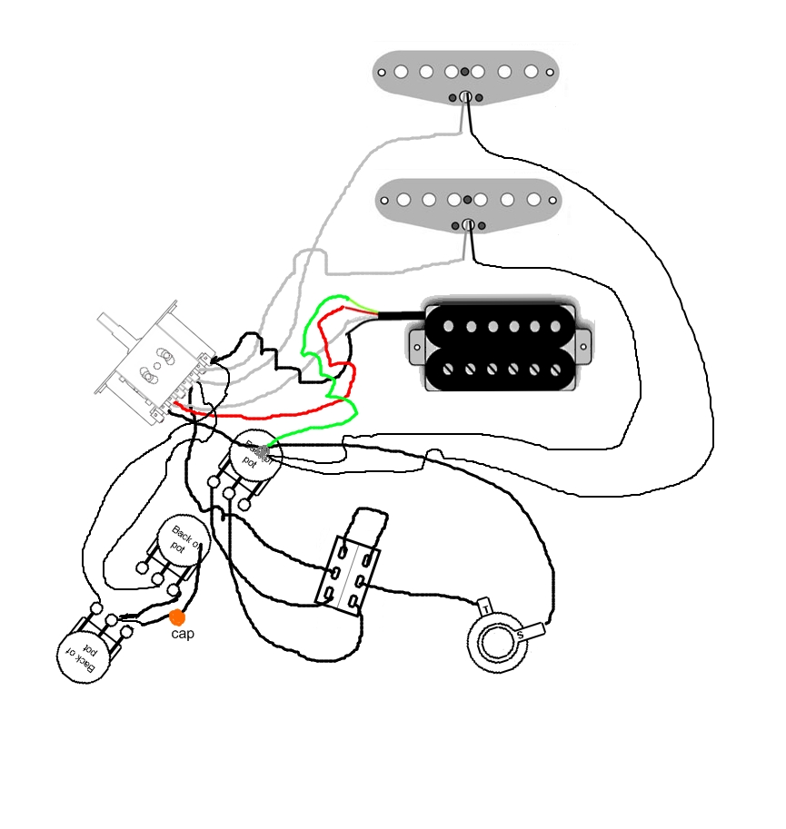 Charvel Guitar Wiring Diagrams Pick Up Schematics Eddie Van Halen Diagram Discover Your Mod Garage The Original