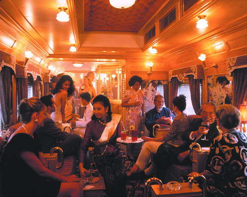 Eastern & Oriental Express - Bar Car