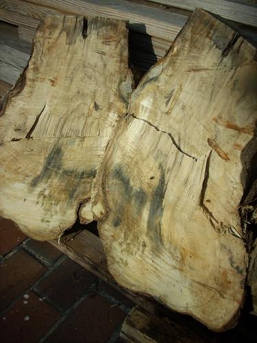 Oak Chunk Split