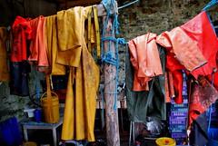 Fisherman's Waterproofs, Crinan, Scotland (Peter Cook UK) Tags: scotland crinan fishermanswaterproofs