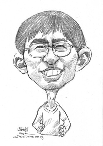 caricature for Hello Technology - 4