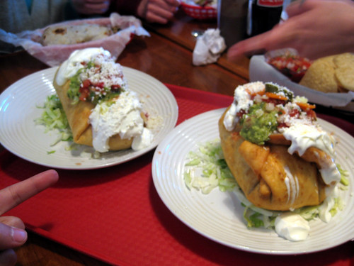 Chimichanga Burritos
