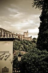 Mirador al tiempo (SERGIO ROJAS) Tags: españa paisaje andalucia alhambra granada albayzin mywinners