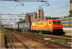 Cargo in Part Time (Marco Stellini) Tags: cargo bombardier traxx crossrail arenaways