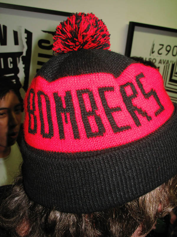 Bombers Beanie, Melbourne invades Sydney...