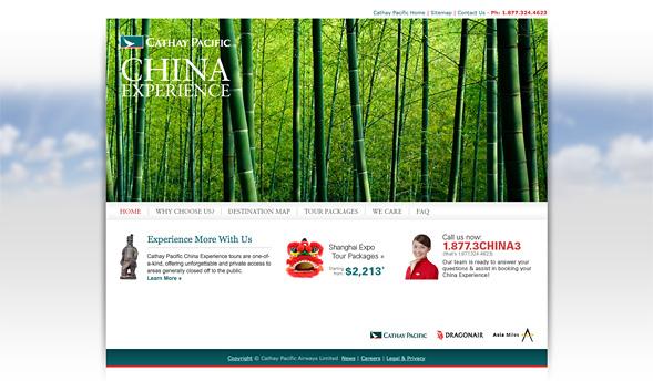 China Experience Website