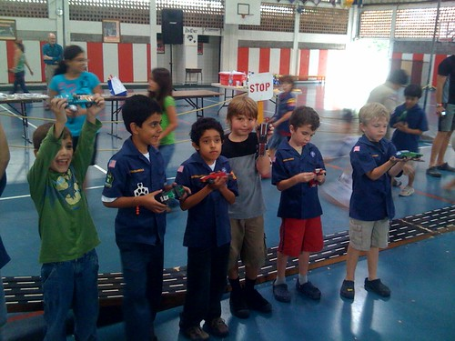 "Pinewood derby -- show of cars • <a style=""font-size:0.8em;"" href=""http://www.flickr.com/photos/28749633@N00/4629842643/"" target=""_blank"">View on Flickr</a>"