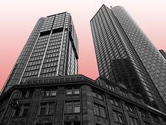 Frankfurt (mibuchat) Tags: skyscraper germany frankfurt bank hochhaus maintower blueribbonwinner