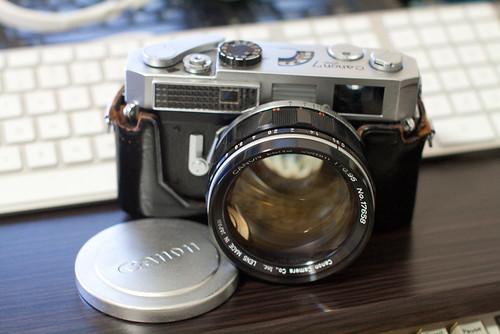 Canon 7 & 50mm f0.95