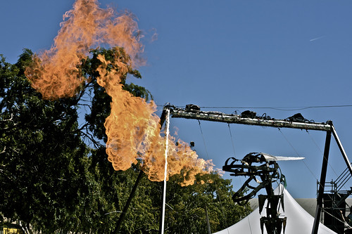 Fire-Breathing Mechanical Dragon