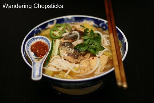 Penang Asam Laksa (Malaysian Penang-Style Tamarind and Fish Soup) 8