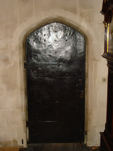 Iron Door at the Abbey
