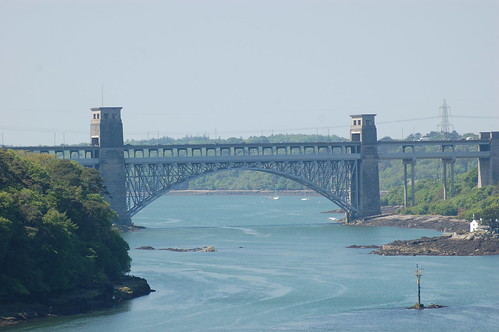 Britannia Bridge, Anglesey May 10